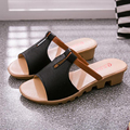 Women sandals 2017 summer high quality PU breathable casual sandals women comfortable slip-on wedges sandalias mujer