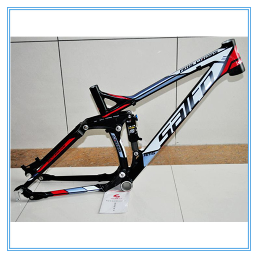 SALTO Mountain Bike Shock Absorber Bicycle Aluminum Alloy Track Frame Full Suspension MTB Frame Soft Tail Downwill Bike parts кабель для сабвуфера atlas element integra subwoofer 1 2 10 m
