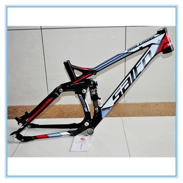 Salto montaña amortiguador Bicicletas aleación de aluminio Track ...
