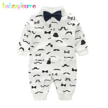 babzapleume Brand 0-24Months Newborn Rompers Cotton Long Sleeve Baby Boys Jumpsuit Print Infant Girl Clothes baby overall BC1229