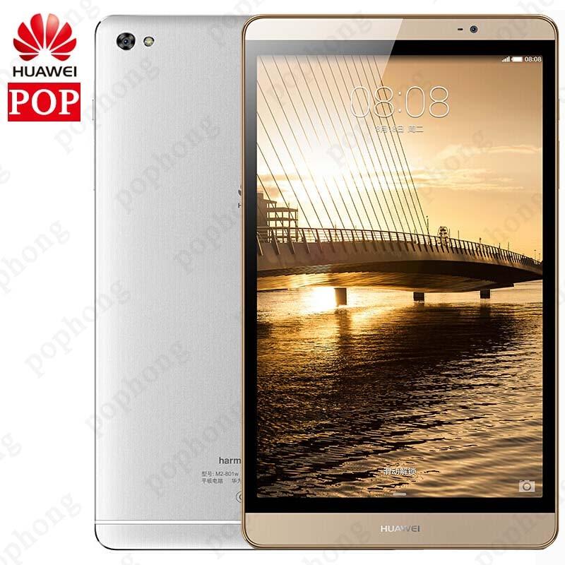 Original Huawei mediapad M2 8.0 inch Android Tablet PC 3GB RAM 32GB ROM Kirin 930 Octa Core 1920X1200px 8MP 4800mAh 4G LTE WIFI