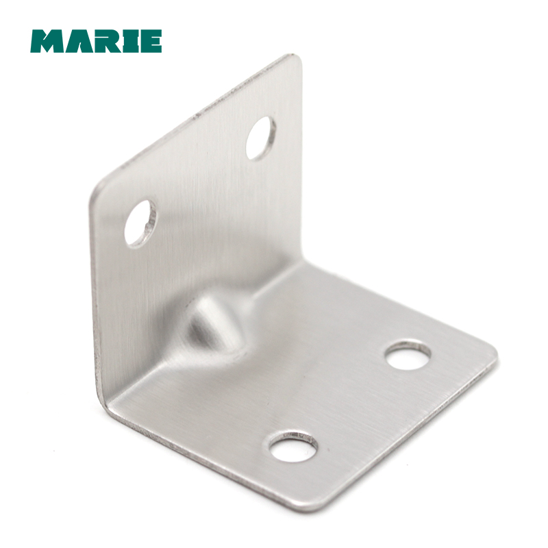 Corner Steel Code Triangular Bracket Angle Stainless Table Chair Fixing 90 Degree Right