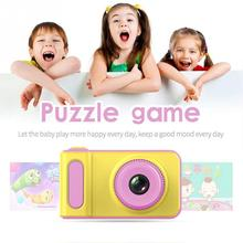 2.0 inch IPS HD screen Children Camera Toys Mini Lovely Kids Anti-shake Digital Max Memory Expansion 32GB For Child Gift