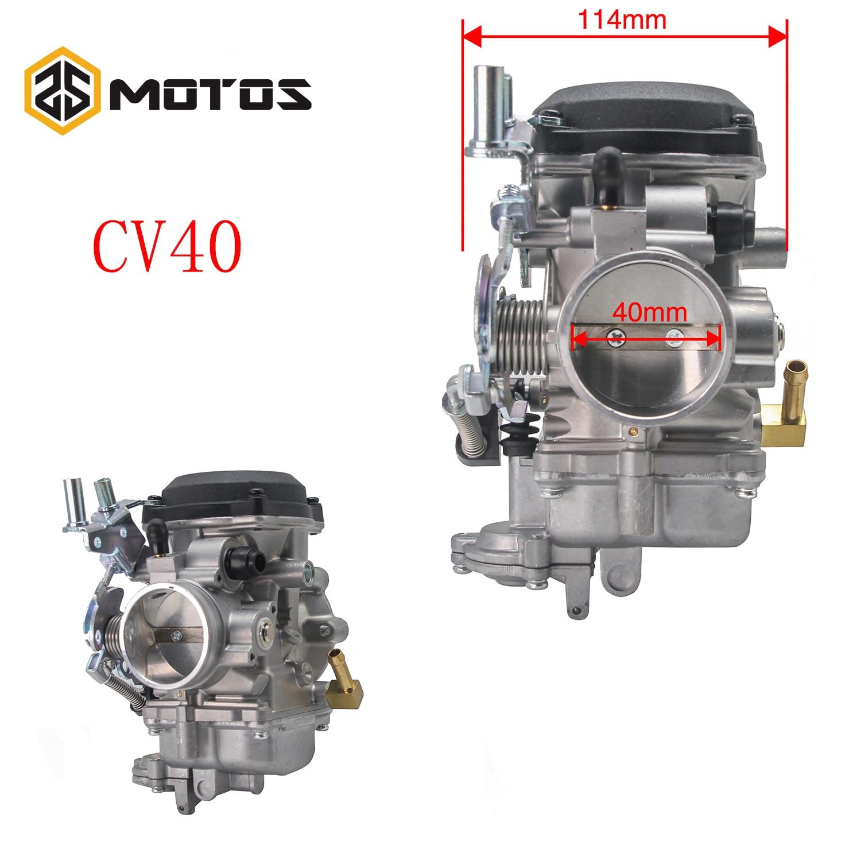 ZS MOTOS pour Arctic Cat 500 Auto 4x4 carburateur d'occasion CVK34 34mm Carb CVK35 35mm carburateur moto moteur accessoires