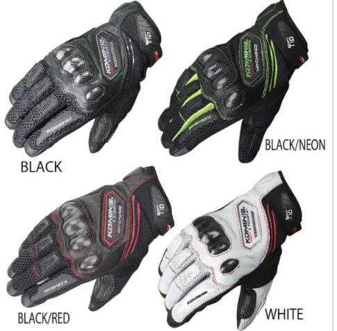 <font><b>Wholesale</b></font> <font><b>Komine</b></font> GK-167 Carbon <font><b>Protect</b></font> <font><b>Mesh</b></font> <font><b>Motorcycle</b></font> Gloves Breathable Men profession Motocross Racing full finger gloves