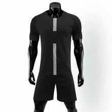 830666fa5 Customize New Style Soccer Breathable Light Polyester Men s Adults Kids Soccer  Jersey Shinestone Plain Football Jersey