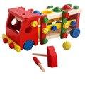 BOHS Sucata De Parafuso Do Carro da Criança Educacional de Madeira Desmontagem Brinquedo Desmontável Removível Multifuncional