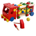 BOHS Wooden   Educational Child Scrap Screw Car Disassembly Dismantable Removable Multifunctional Toy