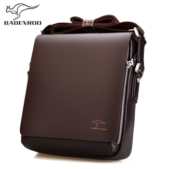 Badenroo Brand Leather Male Bags Fashion Men Shoulder Business Briefcase Casual Messenger Man Hot Sales Crossbody