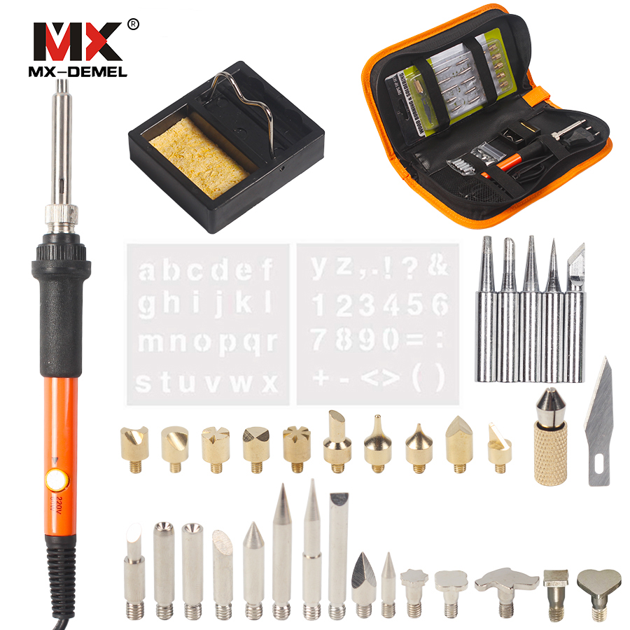 MX-DEMEL 220V 60W Kit per saldatore elettrico a temperatura - Attrezzatura per saldare - Fotografia 3