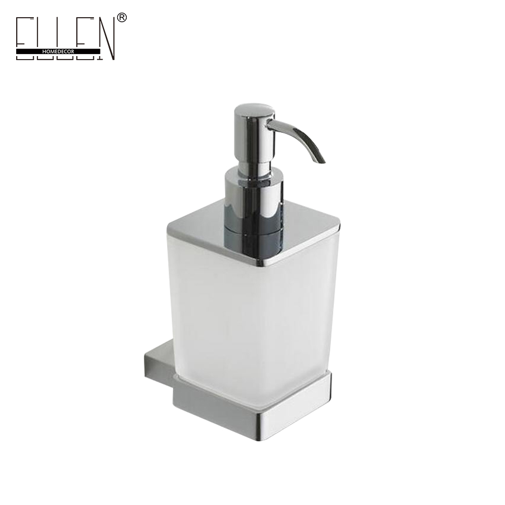 Aliexpress.com : Buy Square Brass Liquid Soap Dispenser for hotel ...