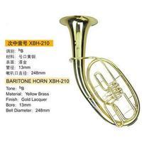 Xinghai Музыкальные инструменты большой краски Золото b трубки ключ euphonium туба B плоский Фосфор бронза носик три плоских ключ