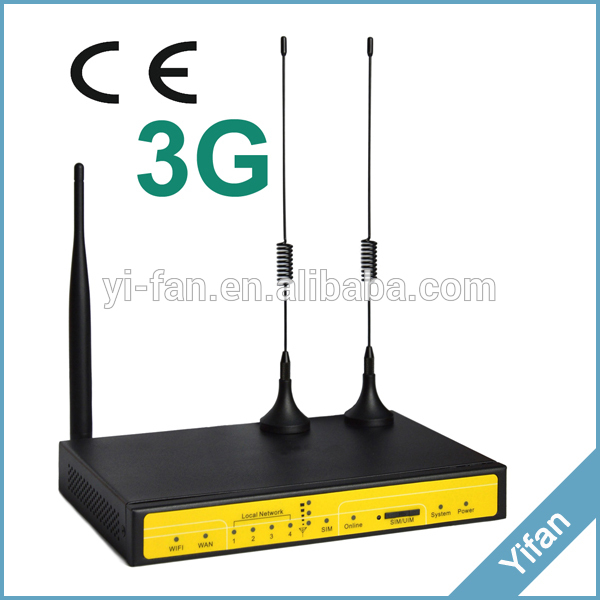 3G VPN Router industrial M2M router F3436 for video monitoring system, Kiosk, WIFI BUS 100m industrial 4g vpn router f3836 for atm kiosk substation vehicle