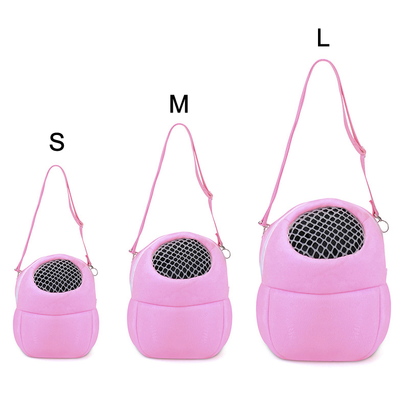 Small Animals Carrier Travel Portable Hanging Bag For Rat Hamster Chinchilla Pet Supplies 669