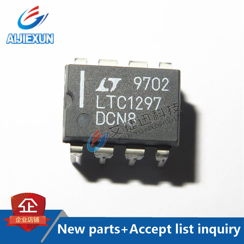 1PCS LTC1297DCN8 DIP8 Single Chip 12-Bit Data Acquisition Systems in stock 100%New and original