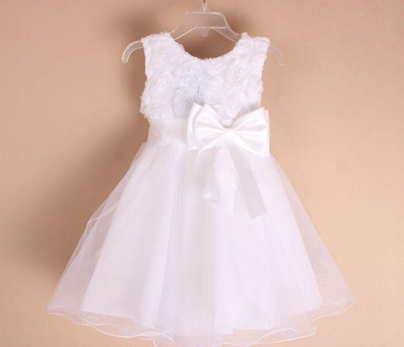 727a50ede14 kids Rose flower girl dresses girls princess dress sleeveless vest princess  dress 7 color 5031-in Dresses from Mother   Kids on Aliexpress.com