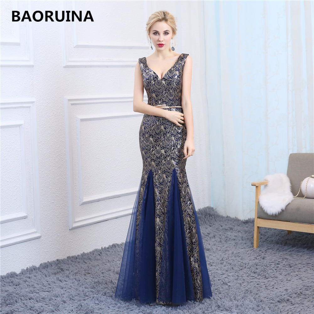 Robe De Soiree Vintage Evening Party Dress Real Photos Nude Color Tulle Grey Sliver Party -1553