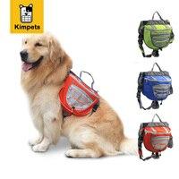 KIMHOME PET New Dog Saddle Backpack Fashion Design Adjustable Dog Travel Bag For Medium Large Dogs