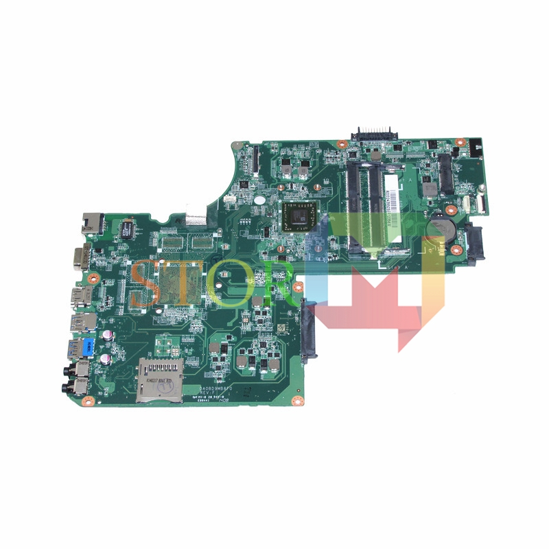 NOKOTION for toshiba satellite L75D laptop motherboard A000243950 DA0BD9MB8F0 a6-5200 cpu ddr3 nokotion sps v000138980 for toshiba satellite l300 l305d motherboard 216 0674024 ddr2 6050a2323101 mb a01