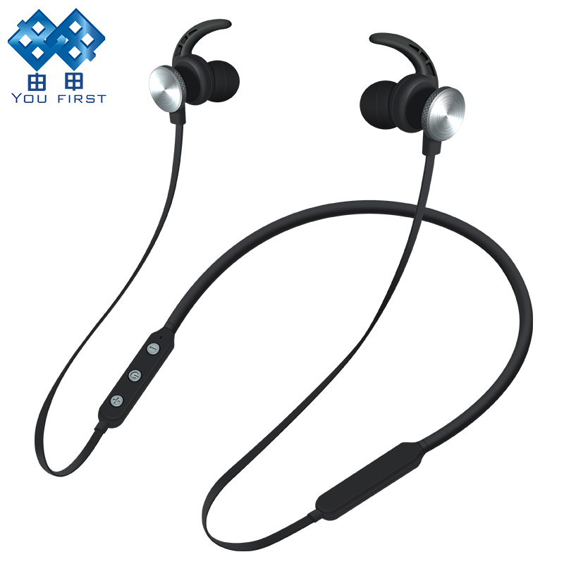 you first bluetooth earphone sport wireless headset neckband stereo handsfree wireless. Black Bedroom Furniture Sets. Home Design Ideas