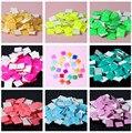 100 unids Plaza 3D Nail Art Puntas de Cristal Joyería Del Clavo de la Decoración Del Rhinestone de Manicura UV Gel Esmalte de Uñas Belleza DIY Jalea Color