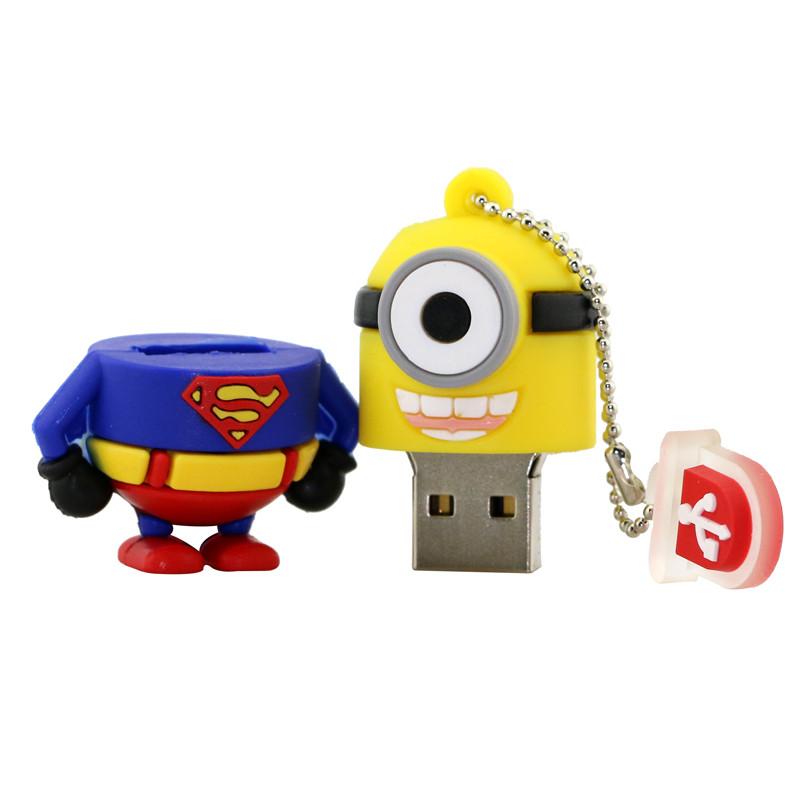 Superhero Minion Styles Flash Drive