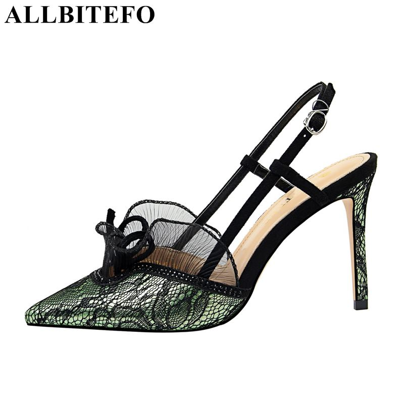 b975407780fb6b Filles argent Sexy Allbitefo D'été Chaussures Talons pourpre À Sandales  Noir pu Ciel Dentelle Hauts Mode Fête Femmes Mariage QWrCBdexo