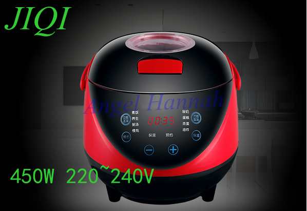 CUKYI Mini Multifunction rice cooker for 3-4 people, booking soup porridge Specials 1-2 mini-cookers 450w 220~240V rice cooker parts open cap button cfxb30ya6 05