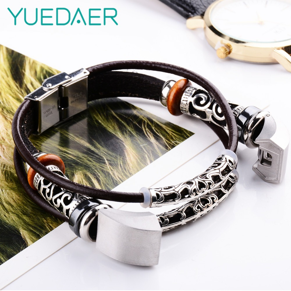 YUEDAER Leather Band bracelet strap for Fitbit Alta / Alta HR Strap replacement sport Watchbands Correas de reloj bandje