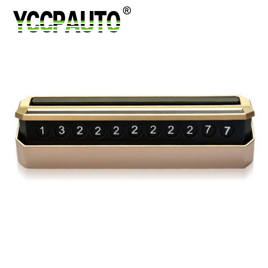 YCCPAUTO Car Interior Phone Number Plate Temporary Parking Assistance Easy Hidden Essential Useful Car Accessories Supply