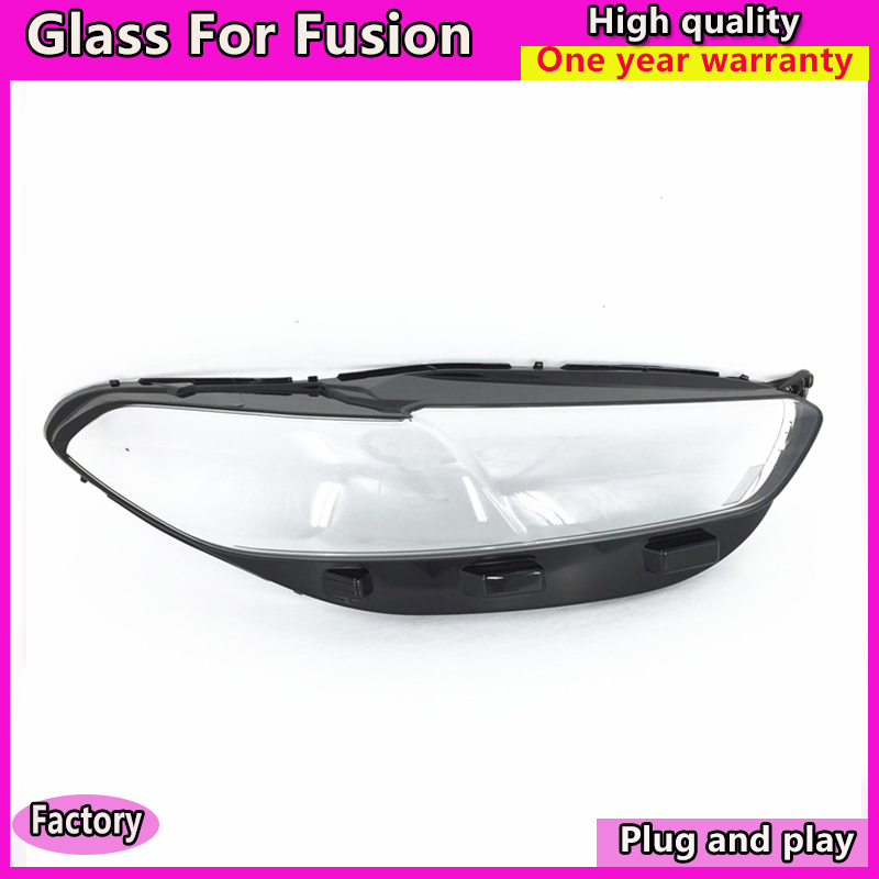 Car Styling for Ford FUSION Mondeo 2013-2016  Headlight cover glass for New Fusion  Head Lamp cover glassCar Styling for Ford FUSION Mondeo 2013-2016  Headlight cover glass for New Fusion  Head Lamp cover glass