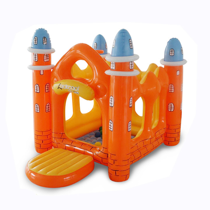 Child inflatable trampoline toy household trampoline inflatable playground for kids