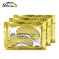 8 Pares de Oro crystal colágeno del polvo del oro máscara de ojo Parche en el Ojo parches Anti-Envejecimiento de Cuidado de Los Ojos ojeras líneas finas Cara cuidado de La Piel