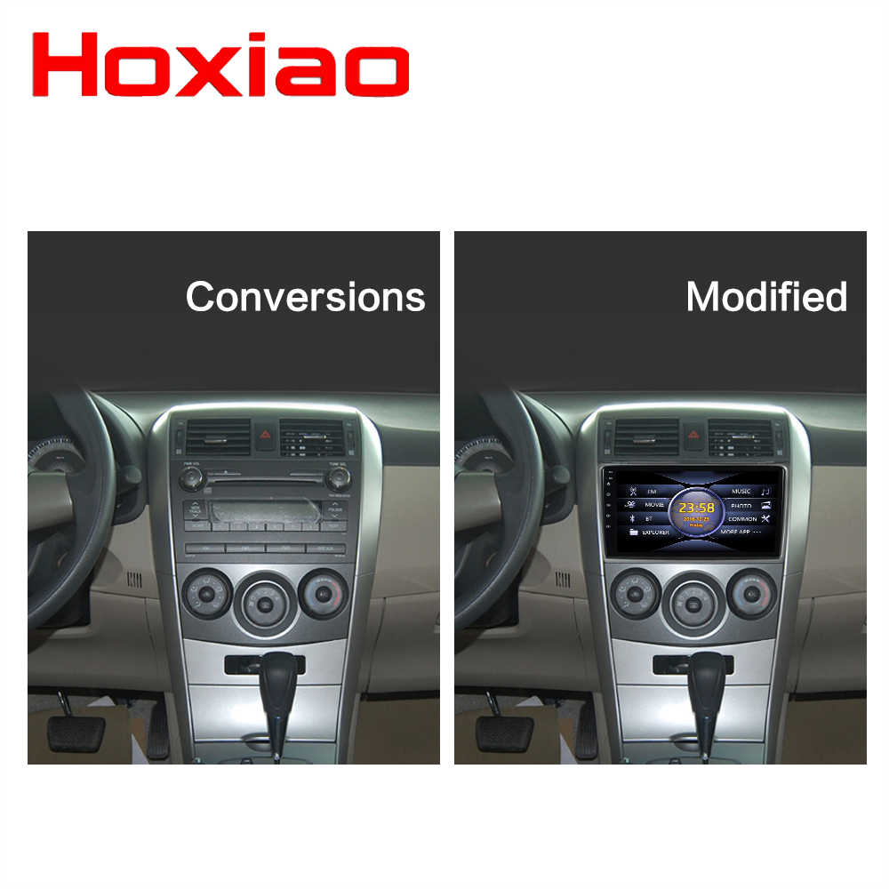 2 DIN Car Radio Multimedia Video Player Mirror Link  For Toyota Corolla E140/150 2008 2009 2010 2011 2012 2013 No Android
