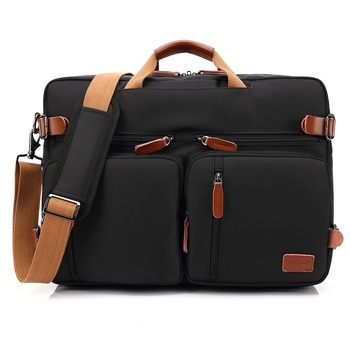 Black Fatcool Handbag & Backpack For Laptop & MacBook  7