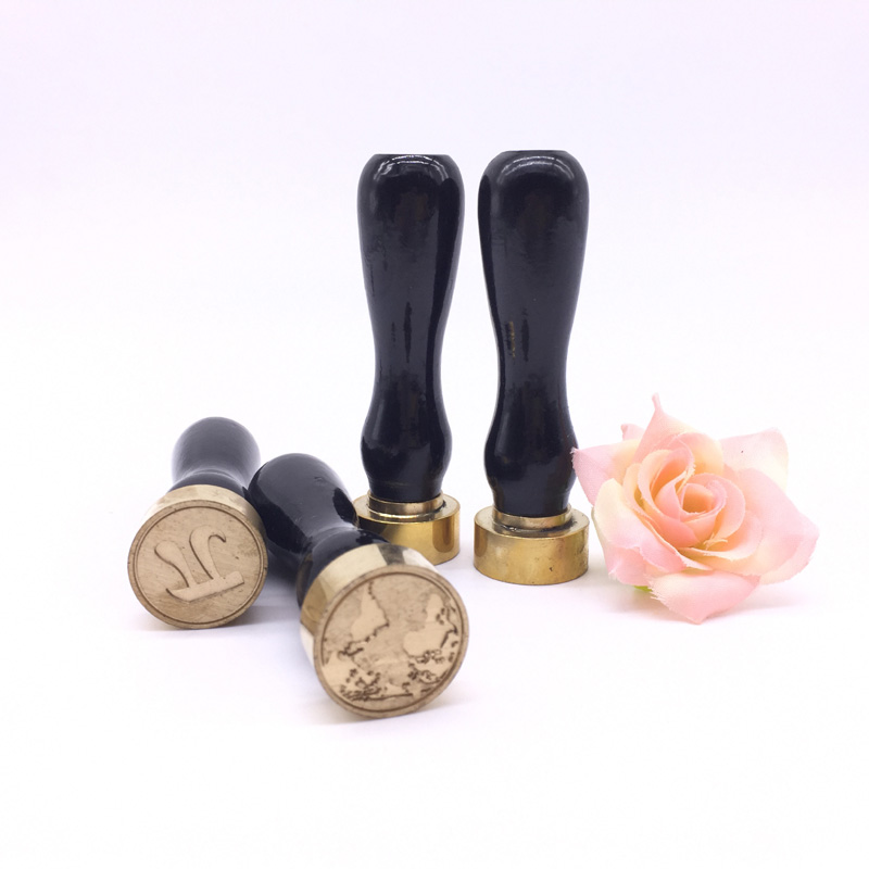 new hot design wax seal stamp with wood handle for letter wedding invitation decorationchina