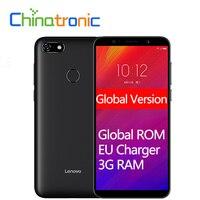 Global Version Lenovo A5 L18021 4G FDD LTE Mobile Phone 3 Card Slot MT6739 Quad-Core Dual SIM 5.45″1440×720 3G RAM Fingerprint Lenovo Phones
