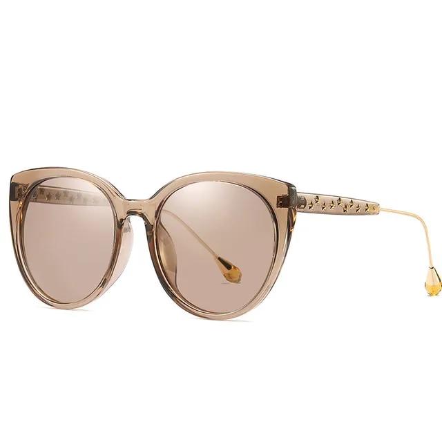 Fashion Woman Polarized Sunglasses Uv400 Trendy Diamond Sun Glasses 2019 Female Eyewear Luxury Shades Sunglasses Oculos Feminino