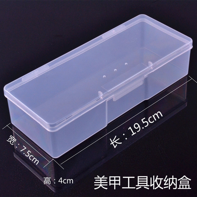 Nail Art Supplies Wholesale Tool Box To Receive Full Transparent ...