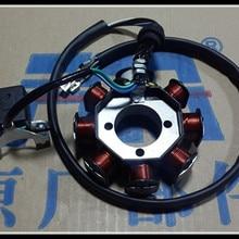 Мотоцикл обмотки статора CG125 CG150 CG200 CG250 ATV Магнето обмотки статора Восемь полюс статора