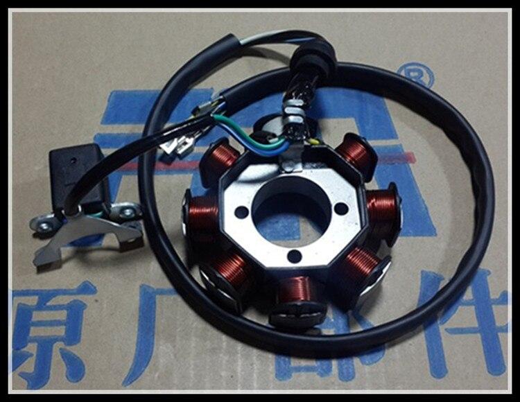 Prix pour Moto stator bobine CG125 CG150 CG200 CG250 ATV Magneto stator bobine Huit pôle de la stator