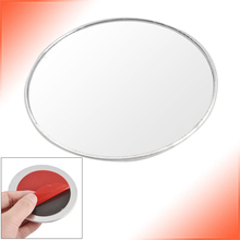 AUTO Amico Silver Tone 3″ Round Convex Rear View Blind Spot Mirror for Car Auto