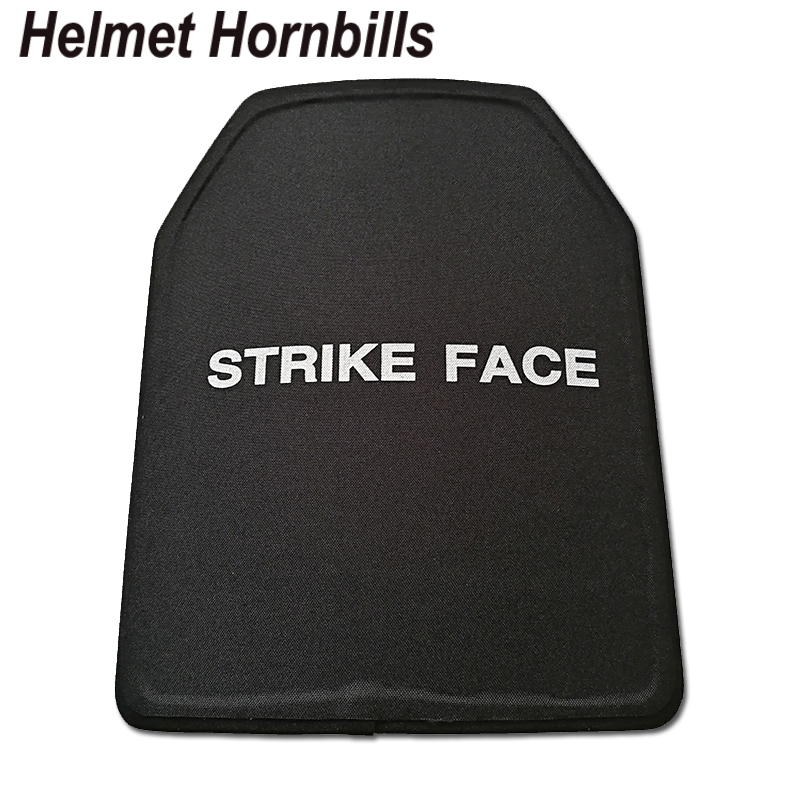 Helmet Hornbills 2pcs/Lot 11 X 14 Inch UHMWPE NIJ Level IIIA Bulletproof Panel/Level 3A Stand Alone Body Armor Ballistic Plates
