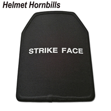 Helmet Hornbills 2pcs Lot 11 x 14 inch UHMWPE NIJ Level IIIA Bulletproof Panel Level 3A