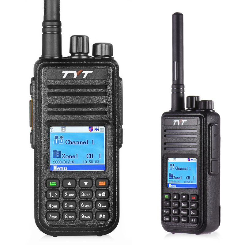 bilder für TYT MD-380 Walkie Talkie UHF 400-480 MHz DMR Digital Radio 1000 Kanäle Comunicador Walkie Talkie md 380 Tytera