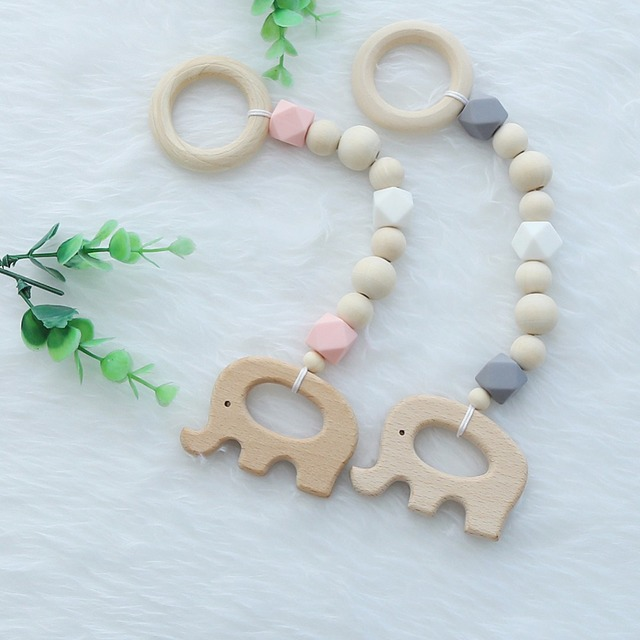 Wooden Baby Hanging Toys
