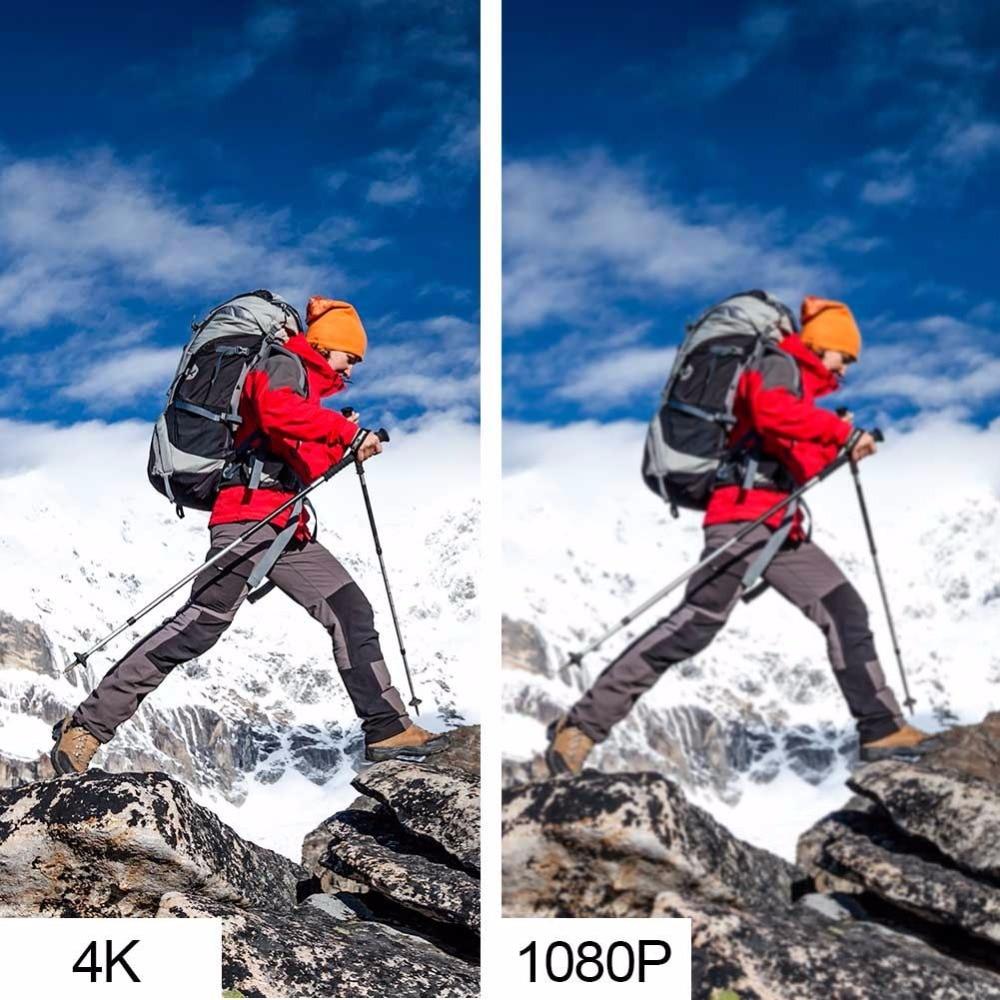 AKASO EK7000/EK5000 4K WIFI Macchina Fotografica di Azione Esterna Video di Sport Estremi timone Ultra HD Diving Impermeabile 12MP 170 ampio Angolo di - 5