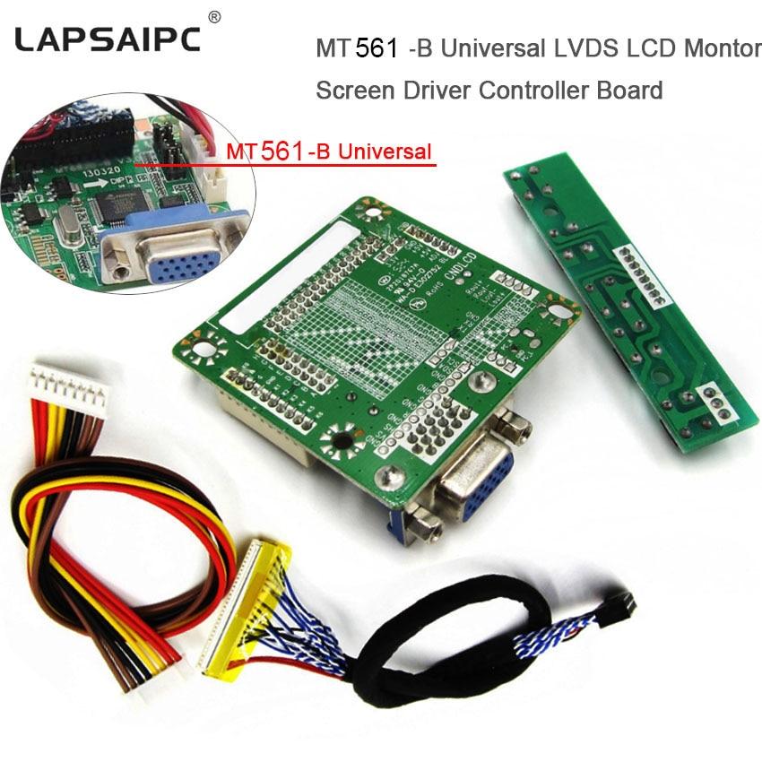 Lapsaipc MT561 B Controller Board For LCD Monitor Screen Driver  5V 10