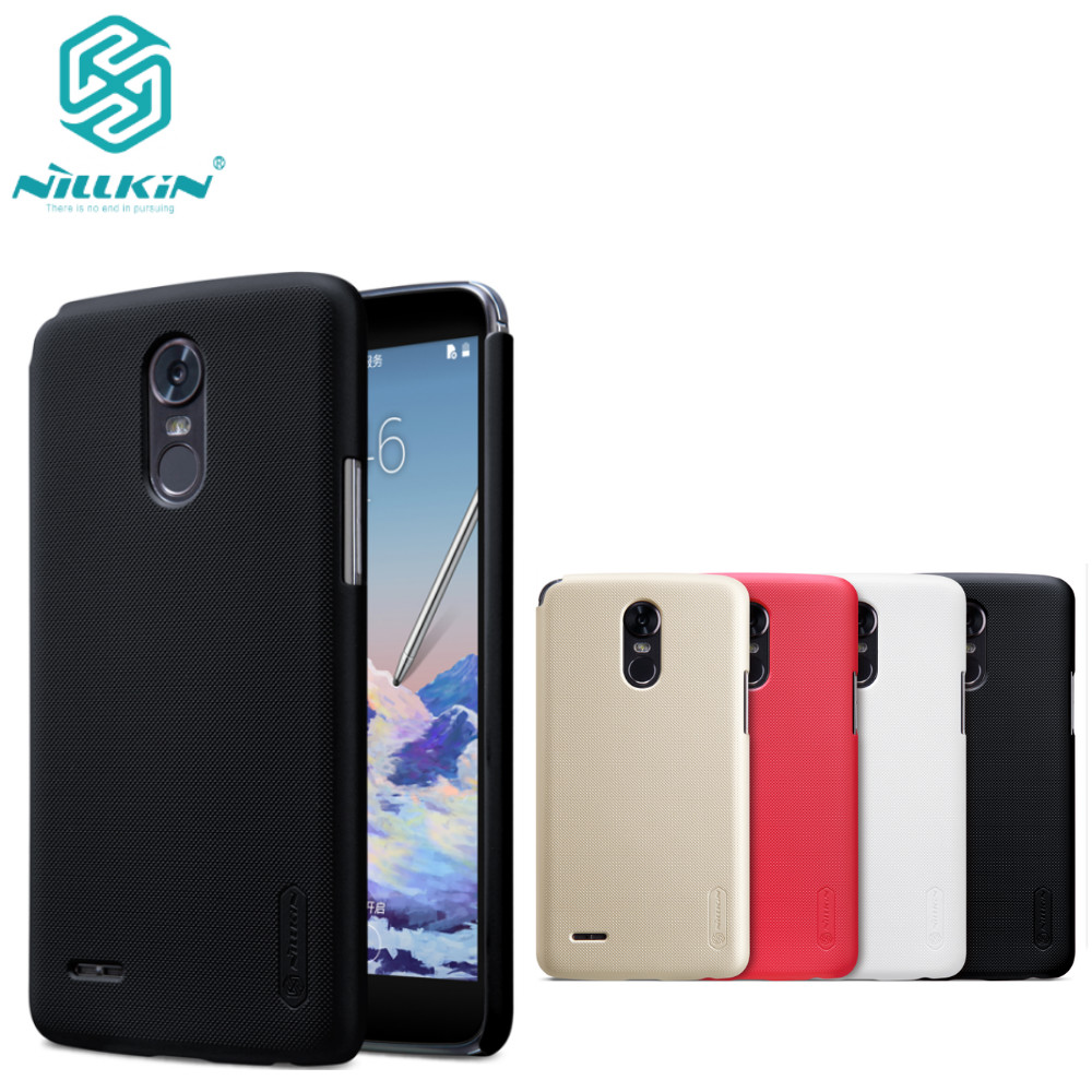 case For <font><b>LG</b></font> Stylo 3 M400DK case cover NILLKIN Super Frosted Shield Hard Back Cover case For <font><b>LG</b></font> Stylo 3 <font><b>M400DY</b></font> screen protector image