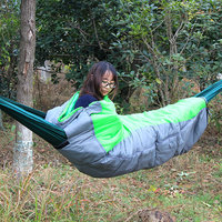 Hammock Sleep Bag Hammock Cover Adult Outdoor Room Single Person In Autumn And Winter Thickened Warm